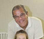 Confraternização na residencia de Olga e Paulo Santos