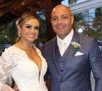 O lindo casamento de Claudio Leon e Adriana Ferreira