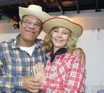 O gostoso Arraiá de Olga e Paulo Santos