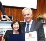 Marcos Scarpa recebe o Título de Cidadão Mogiano